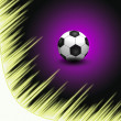 Abstract Beautiful soccer Background — Stock Photo