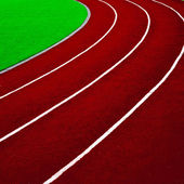 Athletics Track Lane — Stock Photo