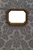 Blank vintage wooden picture — Stock Photo