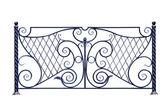 Decorative fence . — Stock Photo