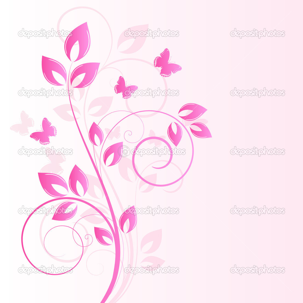 Floral background  Stock Vector #11326071