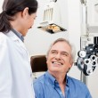 Eye Checkup - Foto Stock