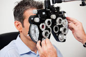 Eye Examination — Stockfoto