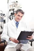 Doctor in Ophthalmology Clinic — Stock Photo