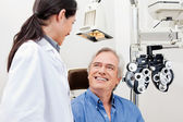 Eye Checkup — Stockfoto