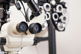 Medical Equipments For Eye Checkup — Stock Photo