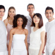 Royalty-Free Stock Photo: Multiethnic Group of