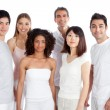 Stock Photo: Multiethnic Group of