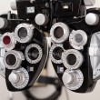 Eye Exam Equipment - Stock Photo