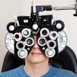 examen de Optometría — Foto de Stock