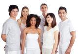 Multiethnic Group of — Stock Photo
