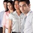 multiethnic group of businesspeople — Stock Photo