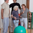 Male Physical Therapist with Patient — Stock Photo #11203549