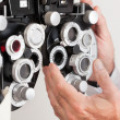 Royalty-Free Stock Photo: Phoropter For an Eye Examination