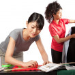 Dressmaker at Work - Stock Photo
