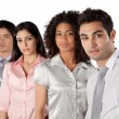 Stock Photo: multiethnic group of businesspeople