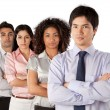 Multiethnic Group of Businesspeople — Stockfoto