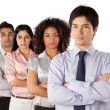 Multiethnic Group of Businesspeople — Stock Photo