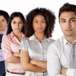 Multiethnic Group of Businesspeople — Stock Photo #11536099