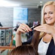 Stock Photo: BeauticiAt Parlor