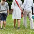 Friends On a Weekend Picnic — Stock Photo