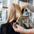 Getting a Hairstyle — Stock Photo