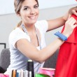 Portrait of Female Dressmaker — Stock Photo #12259391