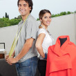 Stock Photo: Fashion Designers Standing Together