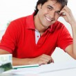Young Male Architect Smiling — Stock Photo #12379031