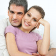 Happy Affectionate Couple — Stock Photo #12380792