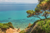 Seascape in Kassandra, Halkidiki — Foto Stock
