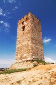 Old tower, Nea Fokea, Halkidiki — Stock Photo