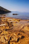 Spiaggia di vassiliki, lefkada — Foto Stock