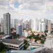 Aerial view of the center of sao paulo — Stock Photo
