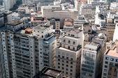 Flygfoto över byggnader i staden sao paulo. — Stockfoto