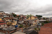 Slum suburb of sao paulo — Stock Photo