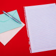 Envelope of correspondence — Stock Photo