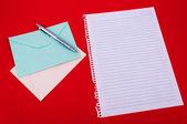 Umschlag der korrespondenz — Stockfoto