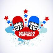 Futbol amerykański logo — Wektor stockowy