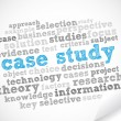 Word Cloud Case Study - Imagen vectorial