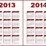Calendar 2013,2014 — Stock Vector #11793803