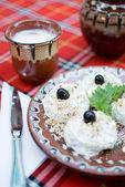 Salade de concombre et d'yaourt — Photo