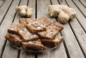 Ginger cookies — Stock Photo