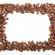Stock Photo: Coffee beans frame