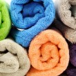 Cotton towels — Stock Photo