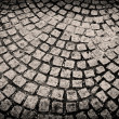 Cobblestones background — Foto Stock
