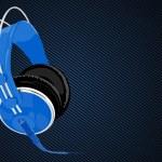 Vector headphones — Stock Vector