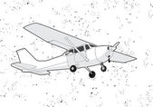 Airplane — Stockvector