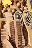 Wooden objects — Stock Photo