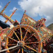 Sicilian cart - Stock Photo